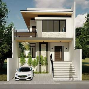Proposed, 2, Storey, Zen, Type, Residence, Yaoto, Design, Studio, Minimalist, Houses