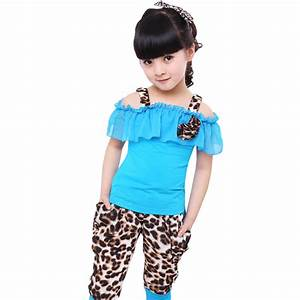 Aliexpress.com : Buy Girls Clothing Sets New 2016 Summer ...