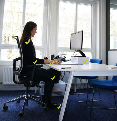ergonomie au bureau nos conseils pour adopter une bonne posture au bureau