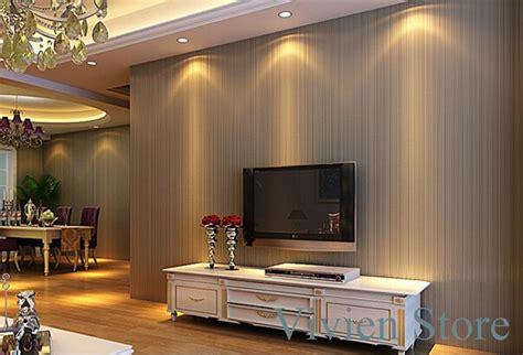 plain solid color   woven striped wallpaper