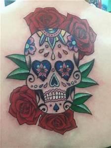 My sugar skull design! - Picture of Supernova Tattoo Bar ...
