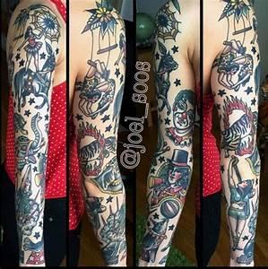 39+ Old School Tattoos On Sleeve