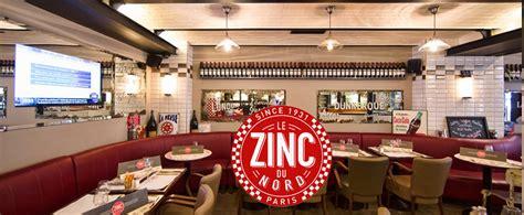 cuisine style bistrot parisien cuisine retro bistro le zinc du nord bistrot