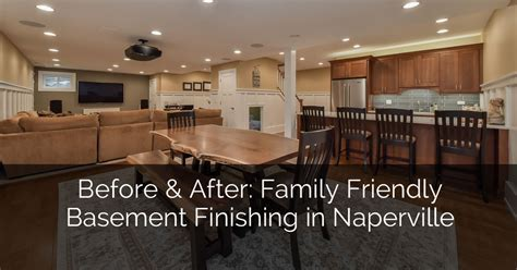 Before & After: Family Friendly Basement Finishing in