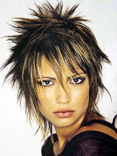 ponytail hairstyles 2012 spiky bob hairstyle