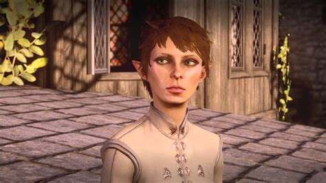 Dragon Age Inquisition Femquisitor Elf First Date With