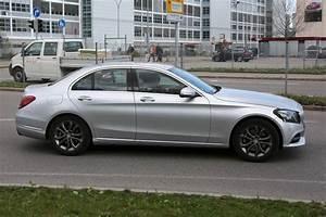 2018 Mercedes Benz C Class Facelift Spy Shots GTspirit