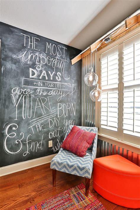 chalkboard wall in bedroom 35 bedrooms that revel in the beauty of chalkboard paint