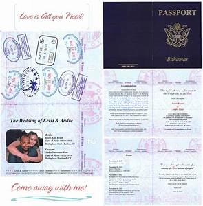 wedding invitation wording wedding invitation templates With passport wedding invitations template free download
