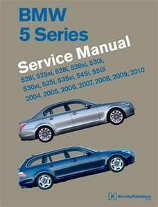 1995 Bmw 525i T Service And Repair Manual