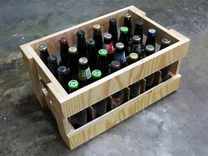 Plywood, Beer, Crate, 6, Steps, With, Pictures