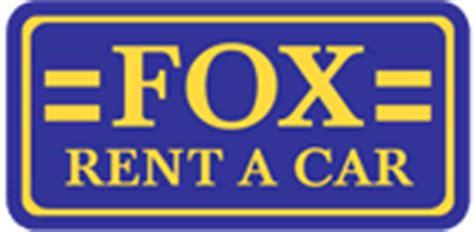 fox rent  car discounts  car rentals car rental savers