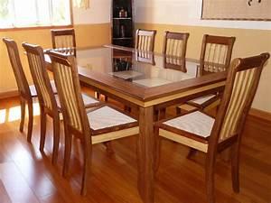 Table A Manger Salon : table a manger en bois ~ Teatrodelosmanantiales.com Idées de Décoration