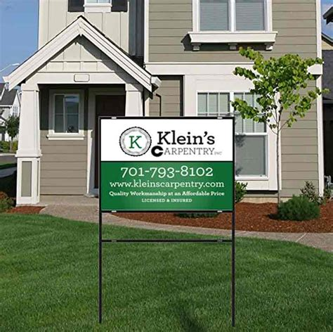 Custom Backyard Signs by Home For Sale Signs Yard Signs Personalized Yard Sign