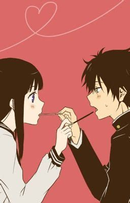 anime like hyouka with more romance best 25 hyouka kiss ideas on pinterest sketches of