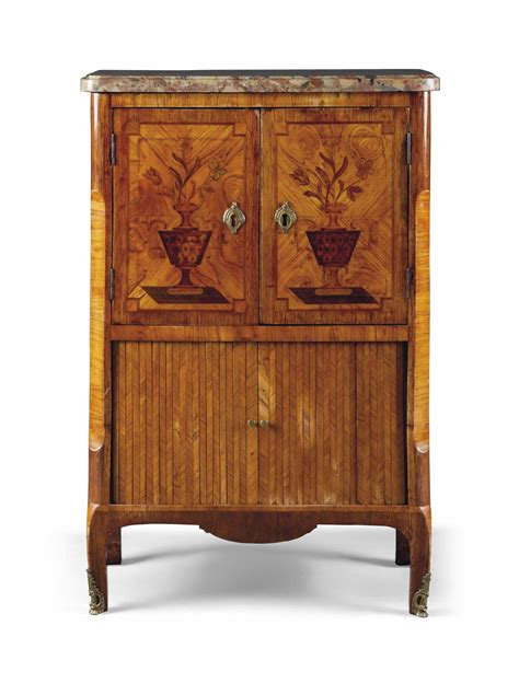 kitchen cabinet shutters a tulipwood and marquetry cabinet third quarter 2760