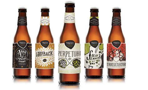 Craft Beer Brand Uses Hand-drawn Artwork On Redesigned