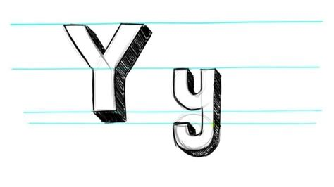 how to draw 3d letters p uppercase p and lowercase p in how to draw a 3d letter y quora 71177