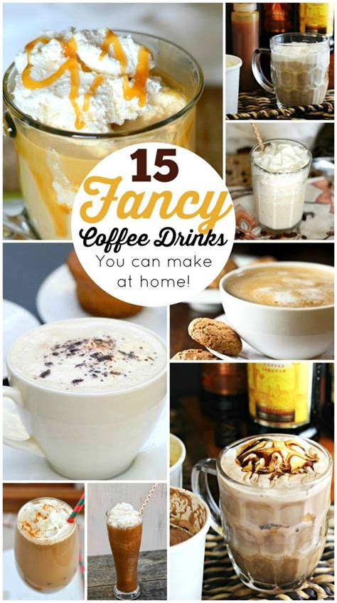 We researched the best options, from digestifs to sipping liqueurs. 15 Fancy Coffee Drinks You Can Make at Home (DIY | Sweet coffee drinks, Coffee drink recipes ...