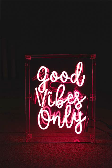 Vibes Neon Wallpaper vibes only neon sign via www helloconfettidreams