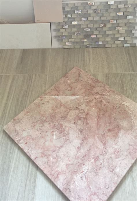 final decision working  existing pink marble