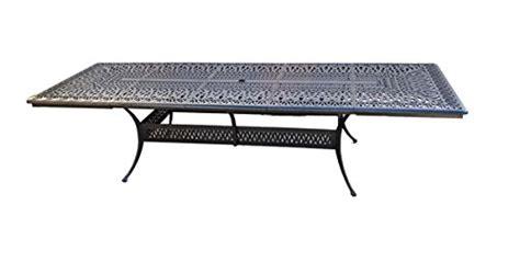 8 10 person patio table 10 person patio set 1 elizabeth 48 quot x 132 quot extension