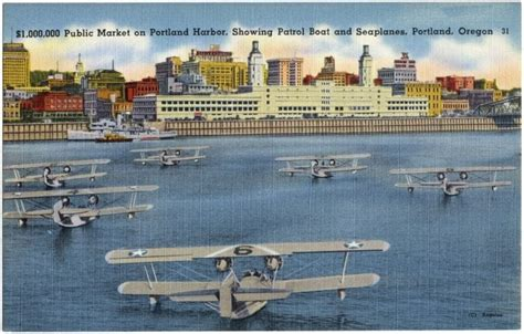 Boat Lettering Portland Oregon by Picture Postcards From Portland Oregon 1930s 1940s