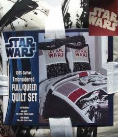 star wars multi color cotton queen quilt shams throwpillow