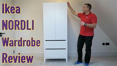 Ikea Nordli Kleiderschrank by Ikea Wardrobe Nordli White Review