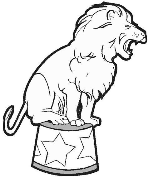 circus animals  animals printable coloring pages