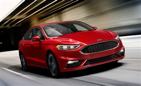 2017 Ford Fusion V6 Sport Ecoboosted And Awd Video