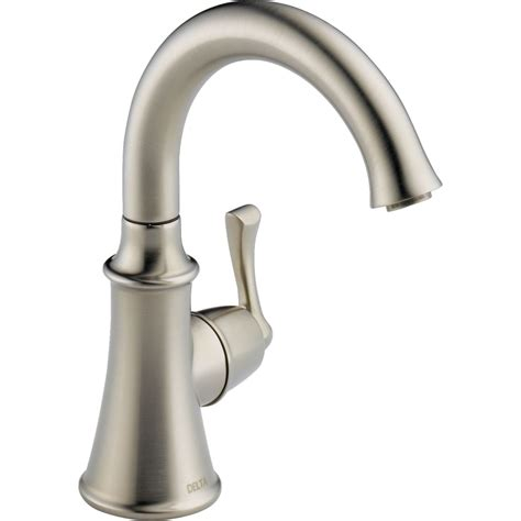 kohler single kitchen faucet delta faucet 1914 ss dst traditional brilliance stainless