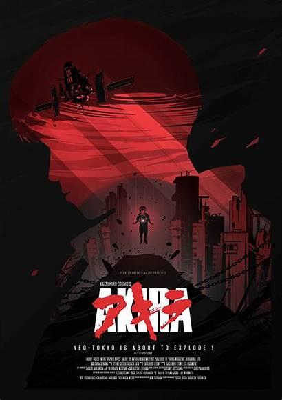 Akira Poster Alternative Posters Amp