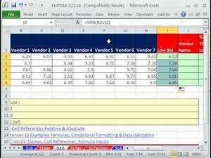 Excel Magic Trick 517 Vendor Name For Low Bid Cheaper