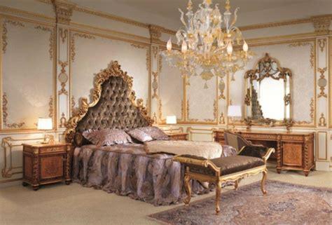 chambre à coucher style baroque chambre style victorien design de maison