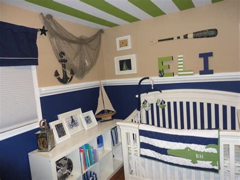 Sailboat Wall Decor Nursery by Eli S Nautical Nursery Project Nursery
