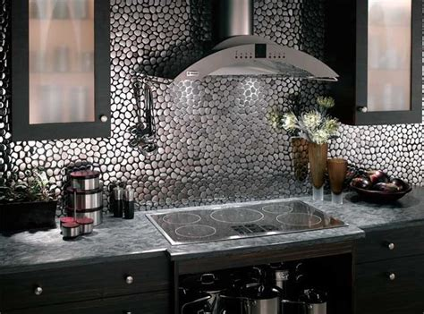 kitchen metal backsplash ideas metal contemporary kitchen backsplash ideas modern kitchens