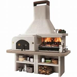 Pierre à Pizza Pour Four : barbecue pierre gargano avec four pizza id es jardin ~ Dailycaller-alerts.com Idées de Décoration