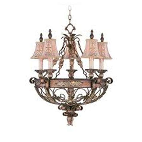 bronze chandelier with accents livex lighting providence 5 light palatial bronze