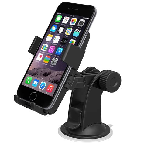 iphone holder for car iottie easy one touch universal car mount cradle and holder