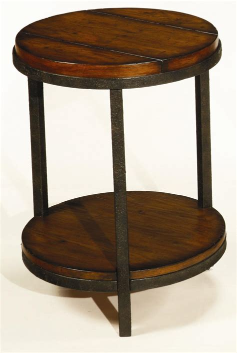 Round End Table With Shelf By Hammary  Wolf And Gardiner. Levenger Desk Accessories. What To Put On Your Desk. Rent Table. Pottery Barn Knock Off Desk. Breakfast Bar Table And Stools. Running Machine Desk. Cheap School Desks. Under The Table Jobs In Nj