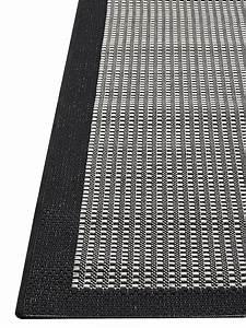 Teppich Für Balkon : outdoor teppich f r terrasse balkon schwarz grau essentials chrome black 160 230 cm teppich ~ Frokenaadalensverden.com Haus und Dekorationen
