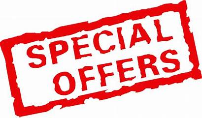 Special Promotional Offers Discount Specials Offer Deals