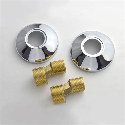 Shower Fittings by Chrome Metal Bathroom Bar Shower Fitting Kit S Union