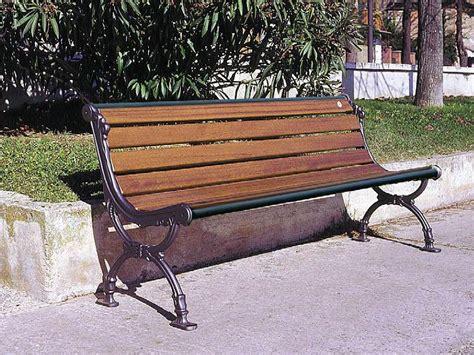 panchine da giardino in ferro 105 panchina per parchi e giardini da marinelli