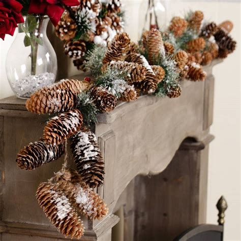 diy christmas garlands  natural materials