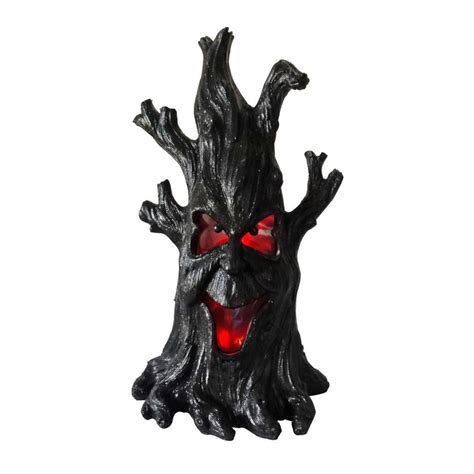holiday living halloween lights shop holiday living pre lit freestanding tree greeter with