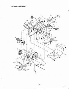 26 Yardman Snowblower Parts Diagram