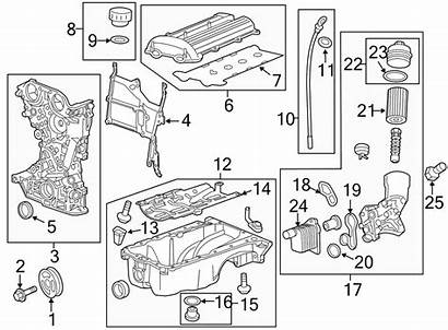 Chevrolet Engine Trax Cruze Parts Intake Oil