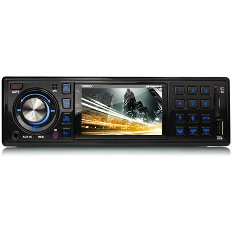 moniceiver 1 din autoradio mit bluetooth 3 quot 7 6cm monitor usb sd mp3 aux 1din moniceiver ohne cd ebay